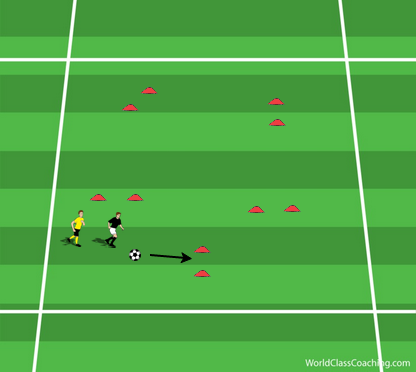 Continuous 1v1 under Tight Pressure - 2