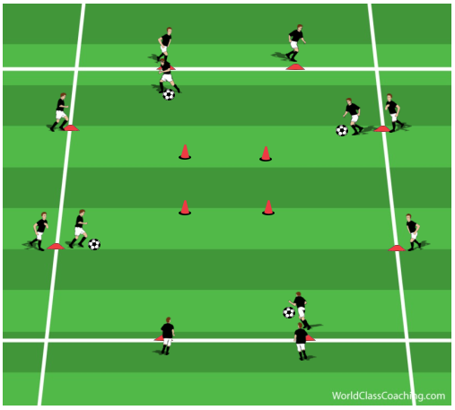 Running with The Ball Practice to Improve Endurance