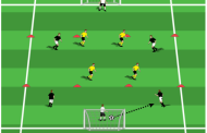 Dribbling 5 v 5 Small-Sided Game